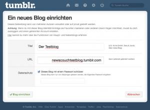 Tumblr - So erstellt du einen Blog