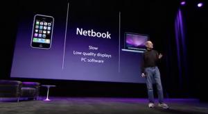 Steve Jobs äußert sich zu Netbooks