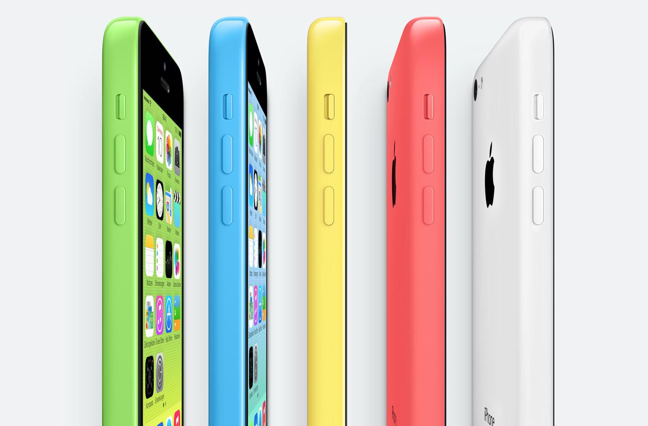 Angebot: Das Apple iPhone 5c mit 32 GB für 499 Euro 1