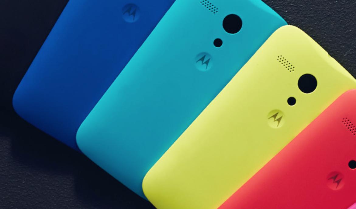 Motorola Moto G (Bild: Motorola)