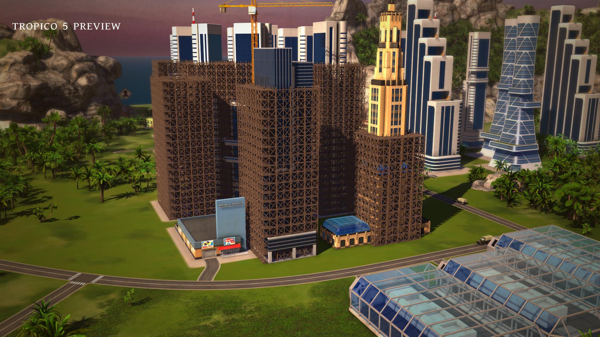 Tropico 5: Vorverkauf gestartet sowie neuer Gameplay-Trailer 3