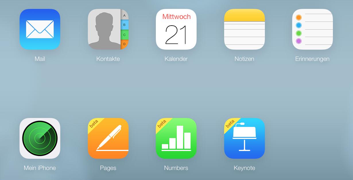 Apple iWork in der iCloud mit neuen Funktionen 1