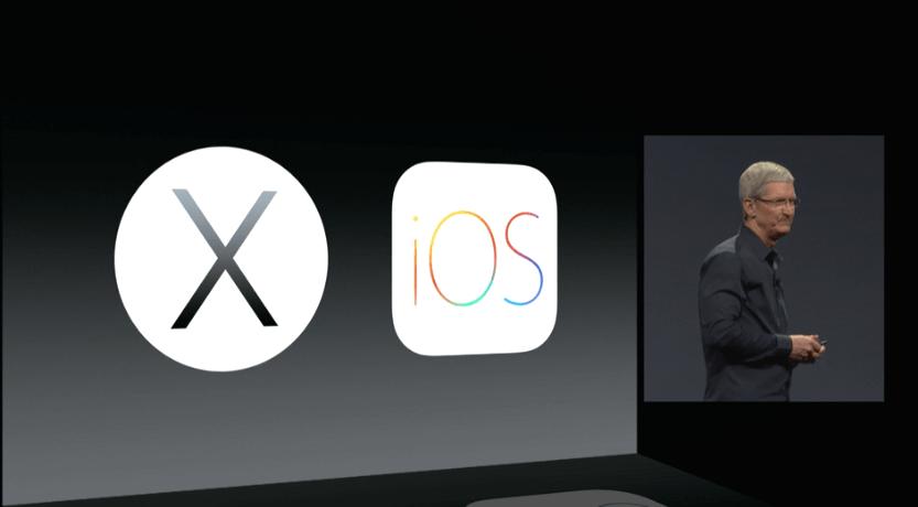 Apple WWDC 2014: OS X Yosemite 1