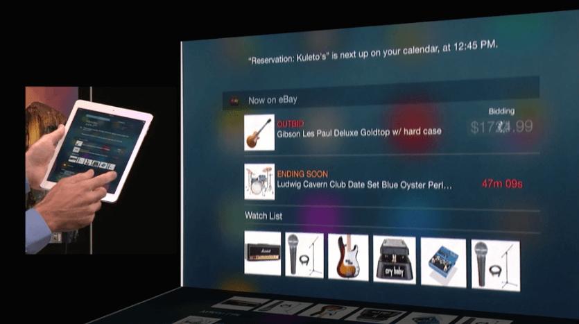 iOS 8 - iPad Widgets
