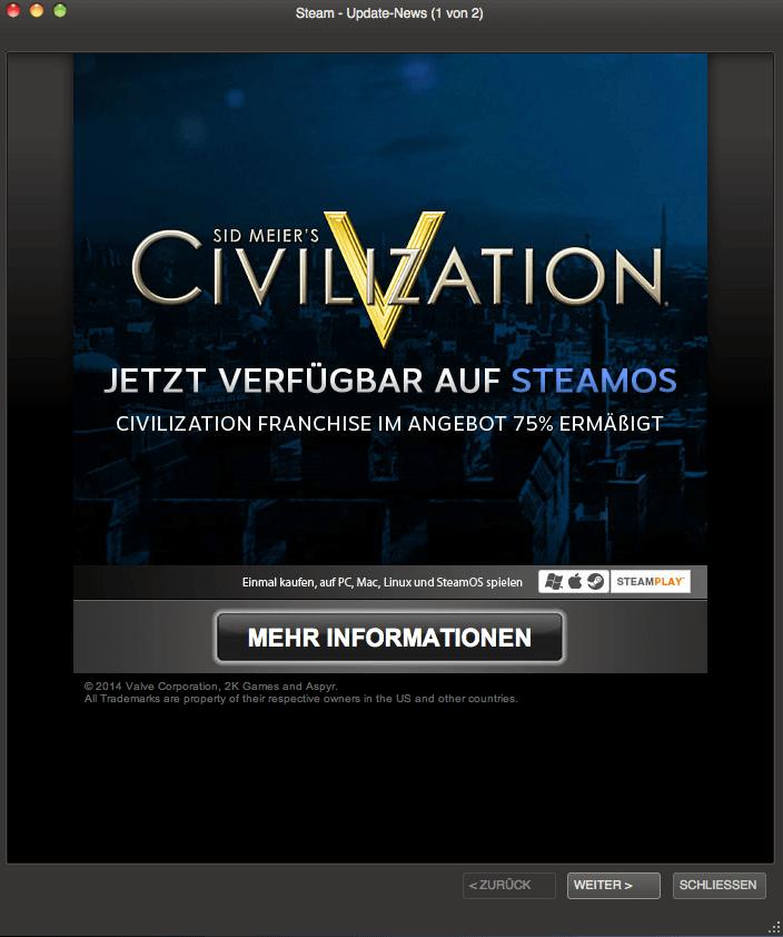 Steam - Sid Meiers Civilization 5