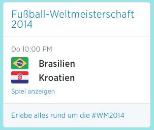 Brasilien vs. Kroatien - Fußball-WM 2014
