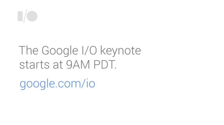 Google I/O 2014 Keynote Livestream 1