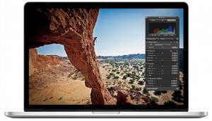 MacBook Pro Retina mit Aperture