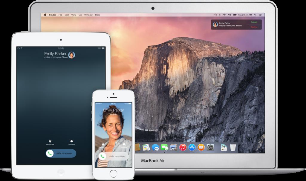 Anrufe am Mac