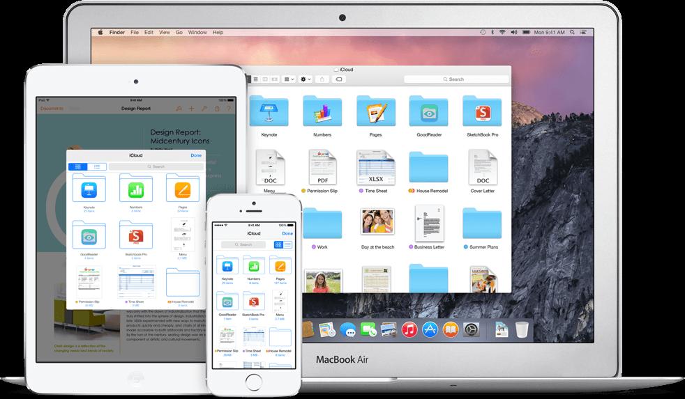Apple iCloud Drive offiziell vorgestellt  1