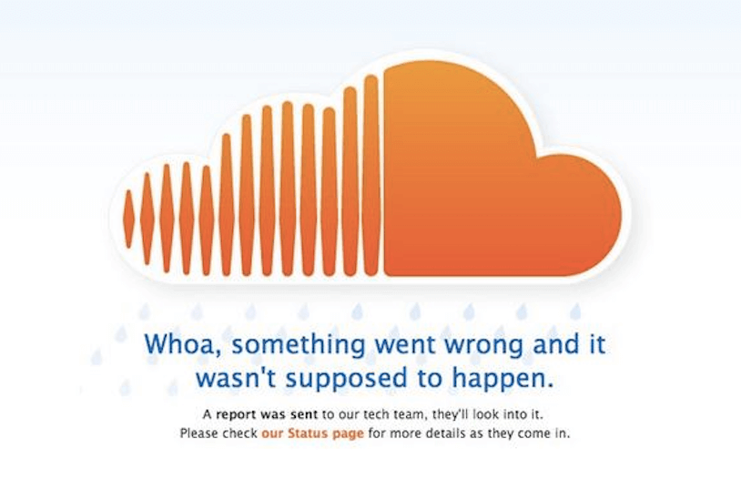 SoundCloud Down