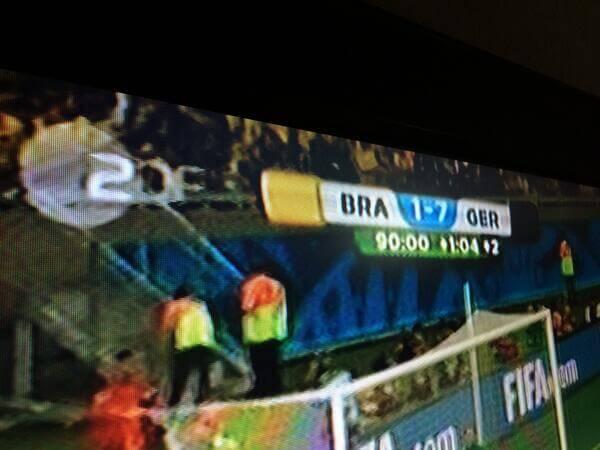 Kommentar: 7:1 für Deutschland gegen Brasilien 1