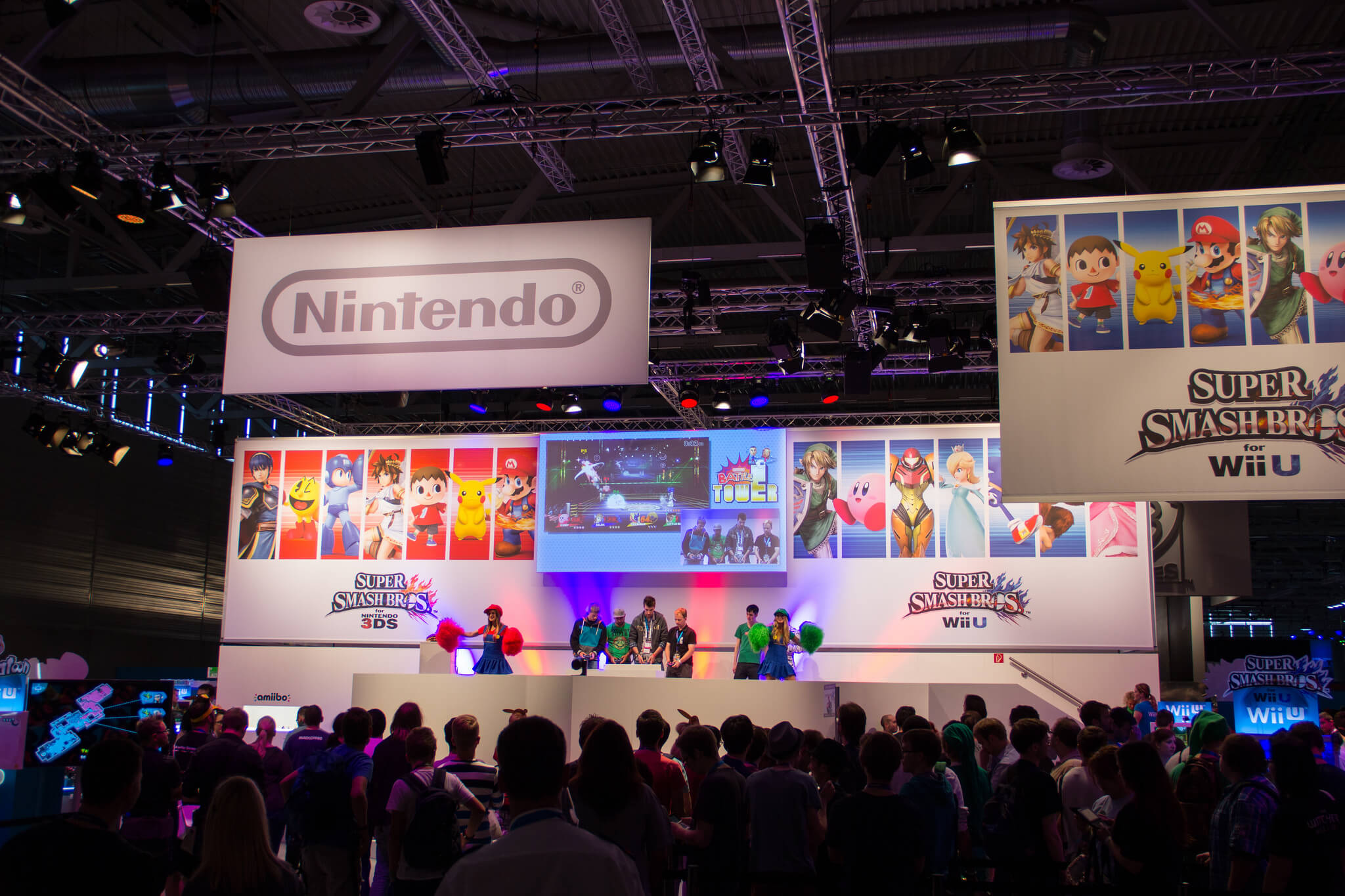 Nintendo auf der GamesCom