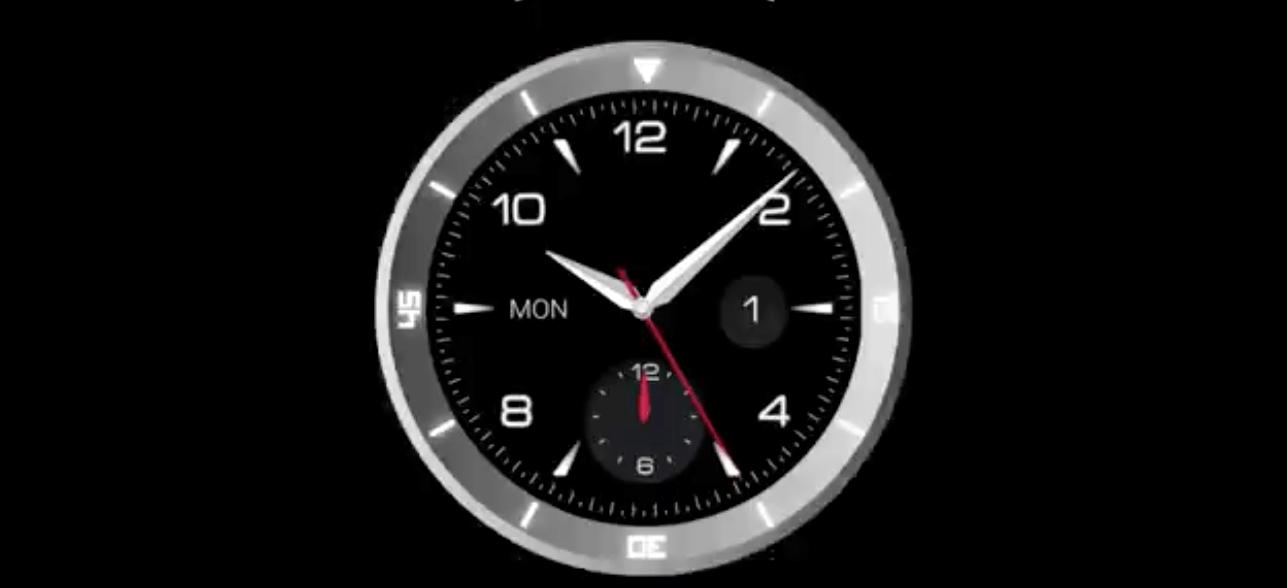LG G Watch R: Runde Smartwatch zur IFA 1