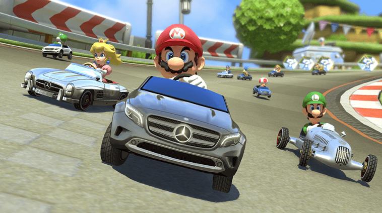 Mercedes-Benz DLC und Verbesserungen für Mario Kart 8 ab 27. August 1