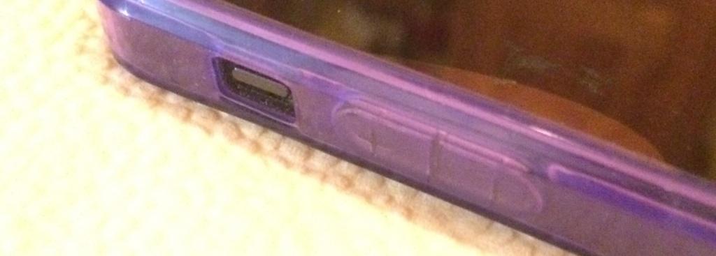 STINNS iPhone Case Violett