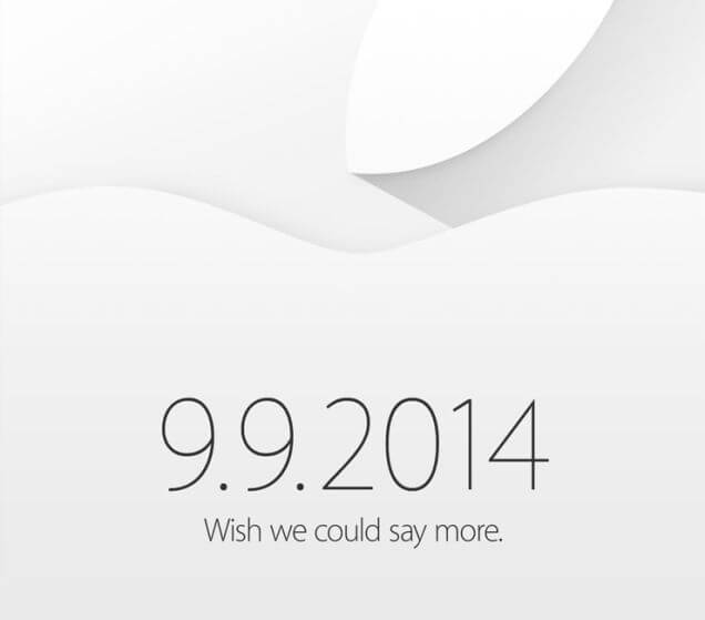 Apple Event 9. September 2014