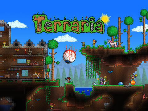 Terraria für iOS erhält großes Update 1