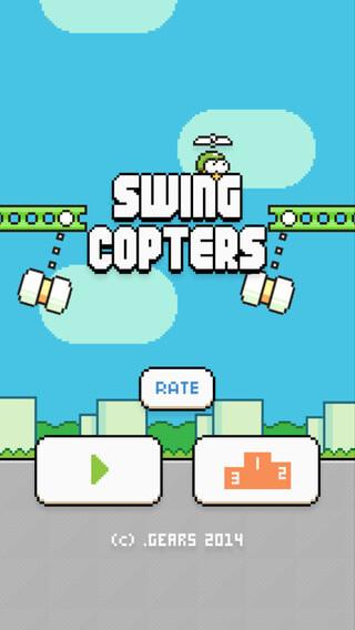 Swing Copters ist der Flappy Bird Nachfolger 1