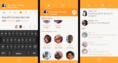 Swarm von Foursquare nun auch für Windows Phone verfügbar 1