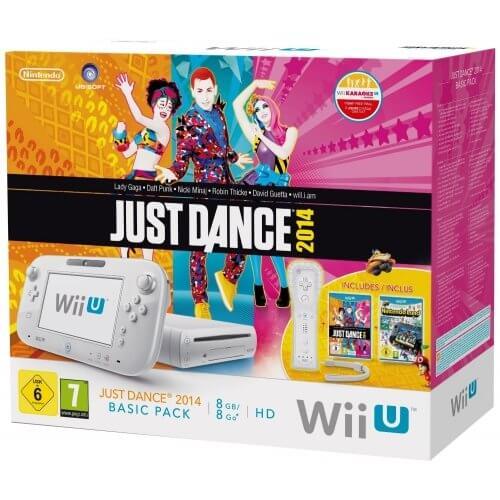 Nintendo Wii U Basic Pack mit Just Dance 2014 und Nintendo Land für 180 Euro 1