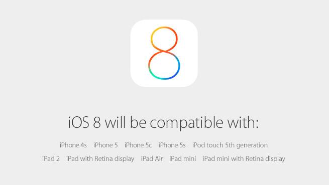 iOS 8 - Ab dem 17. September 2014 für alle 1