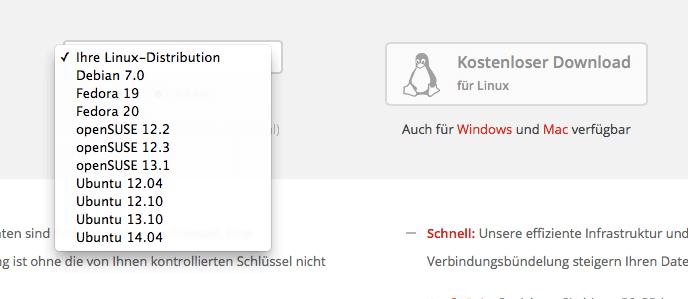 MEGASync for Linux