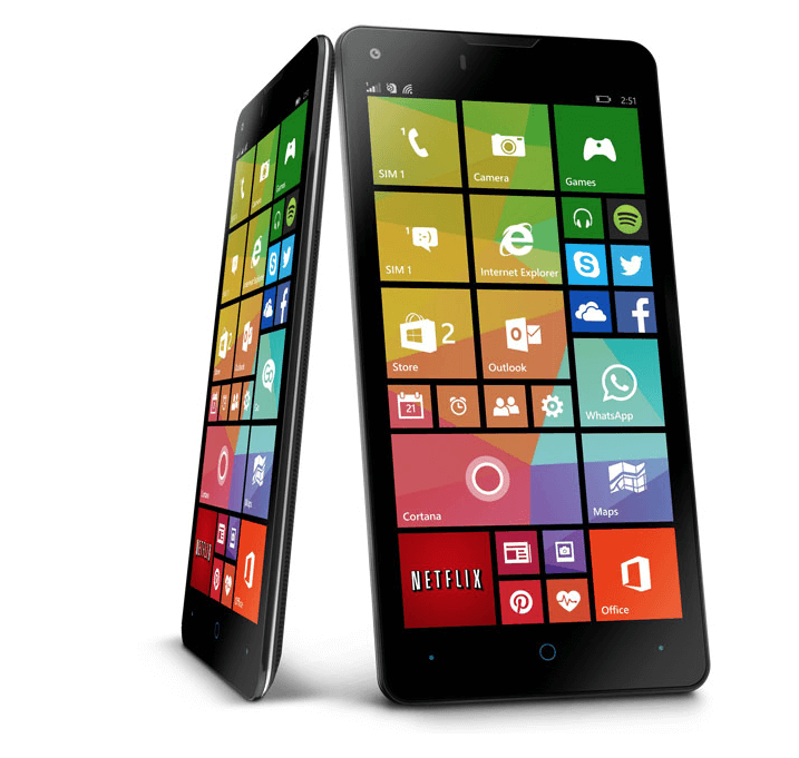 GoFone - Alle Spezifikationen sowie mit Windows als Betriebssystem 10