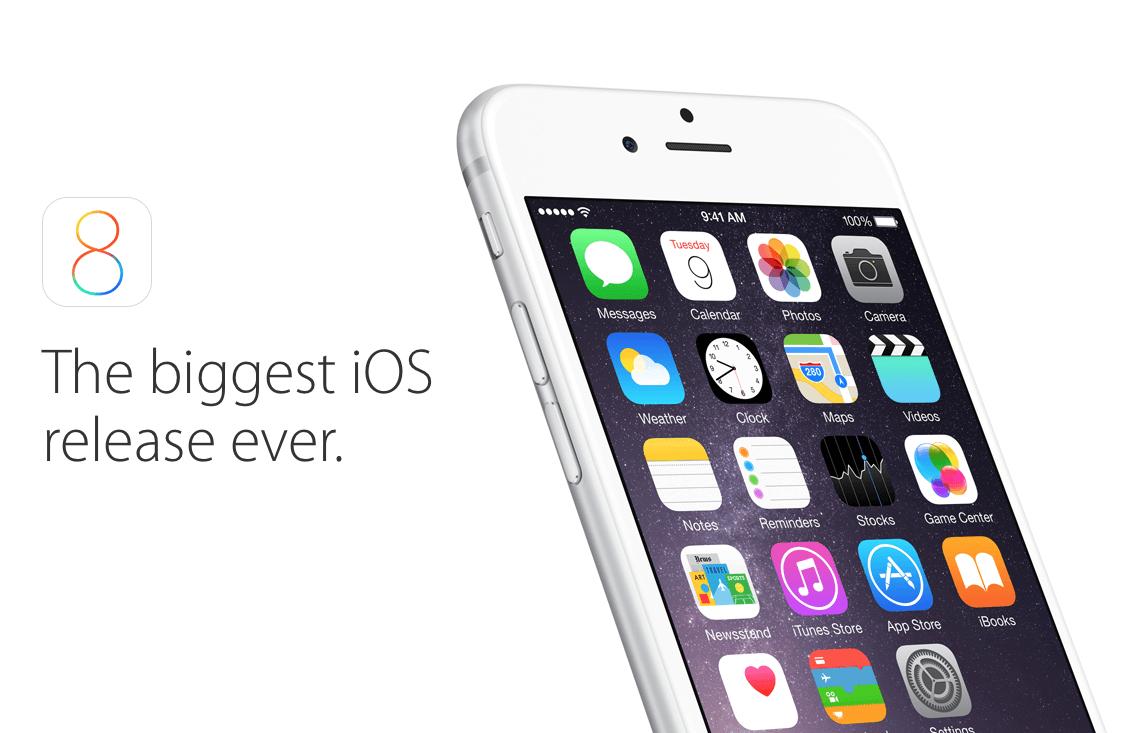 iOS: Über 81 Prozent nutzen Apples iOS 8 1