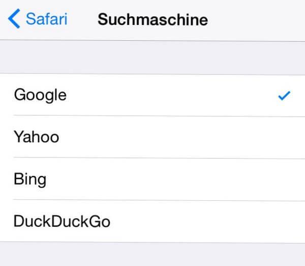 DuckDuckGo iOS