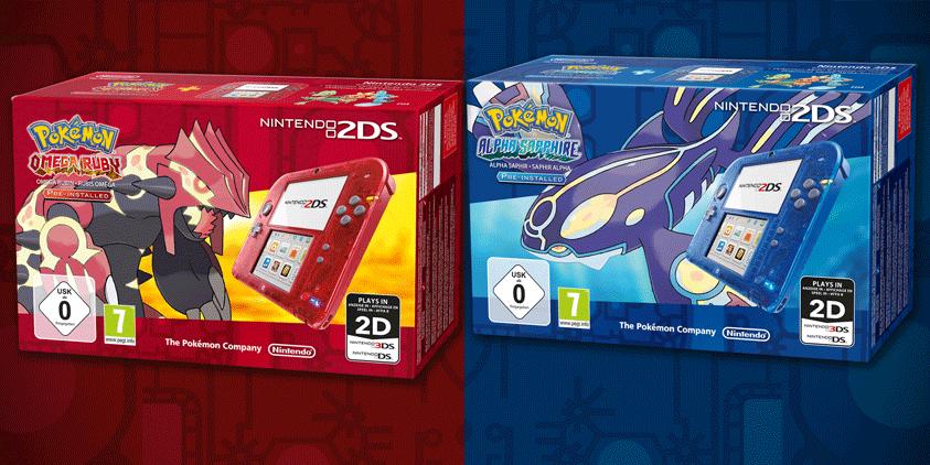 Nintendo 2DS und Pokemon
