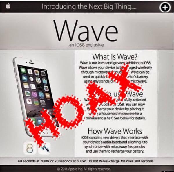 US-Polizei LAPD warnt vor iPhone in der Mikrowelle 1