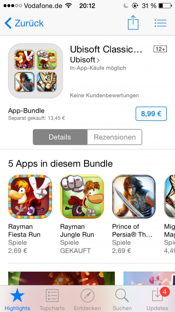 Apple App Store - App Bundles