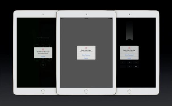iPad Air 2 - Touch ID