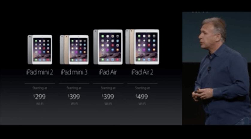 iPad mini 3: Mit Touch ID, startet ab 399 Euro  1