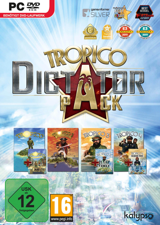Tropico Dictator Pack: Teil 1 bis Teil 4 in einem Bundle 1