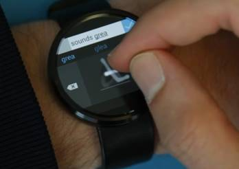 Microsoft Research - Android Wear