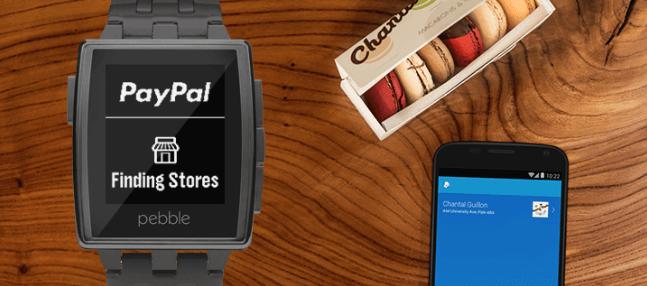Pebble Smartwatch kooperiert mit PayPal 1
