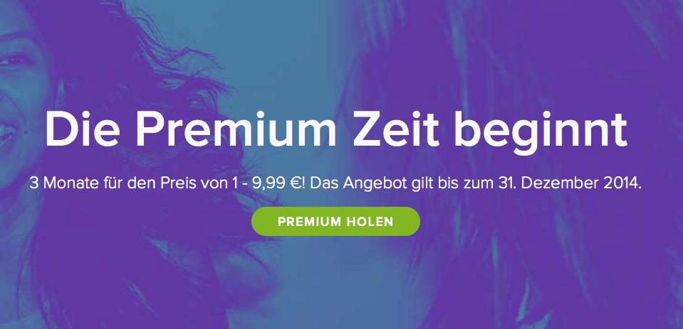 Spotify: 3 Monate Premium zum Preis von einem 3