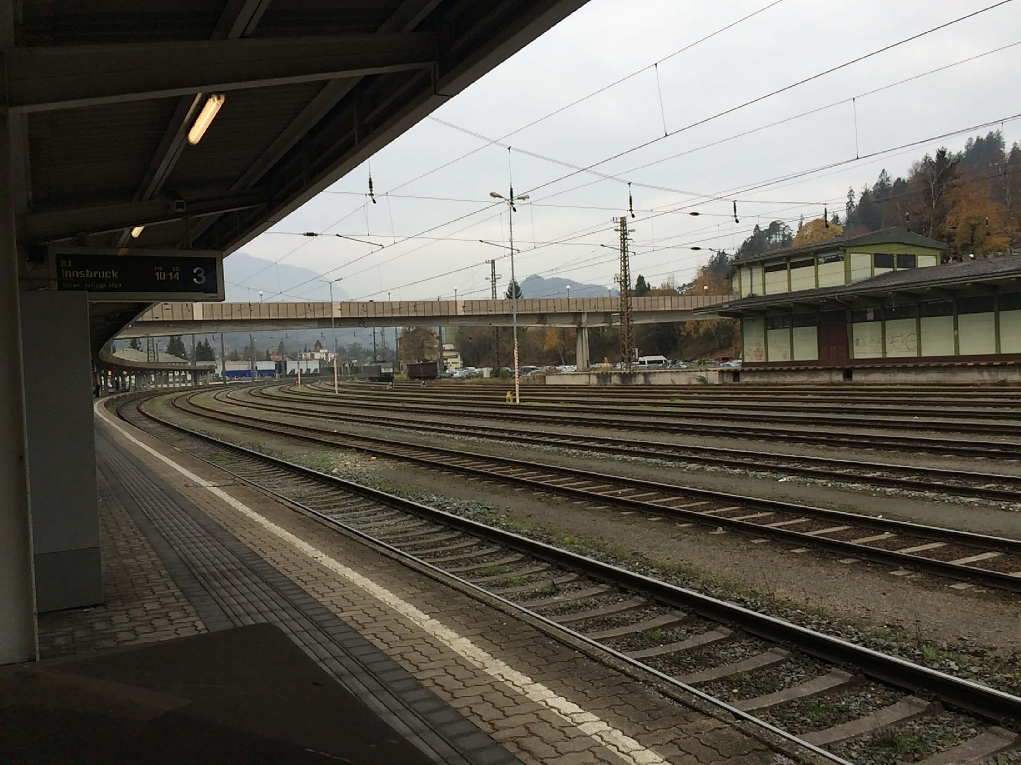 Mit dem Zug nach Innsbruck #Mutprobe 2