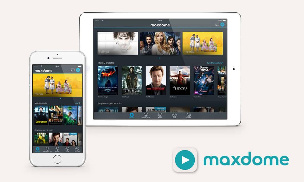 Maxdome veröffentlicht neue iOS-App 1