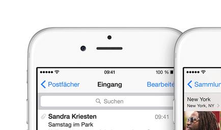 iPhone 6 Frontkamera … Cheese!
