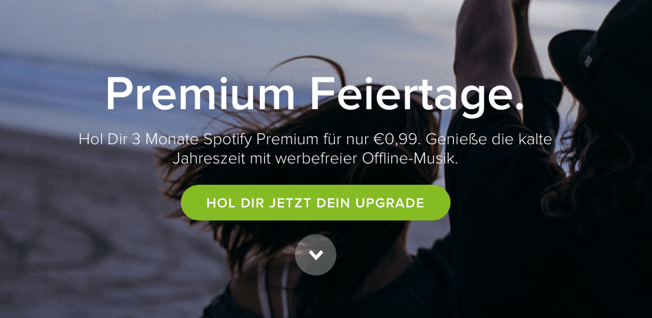 Spotify Premium (3 Monate) für 99 Cent 1
