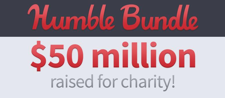 Humble Bundle: 50 Millionen Dollar für eine bessere Welt gesammelt 1