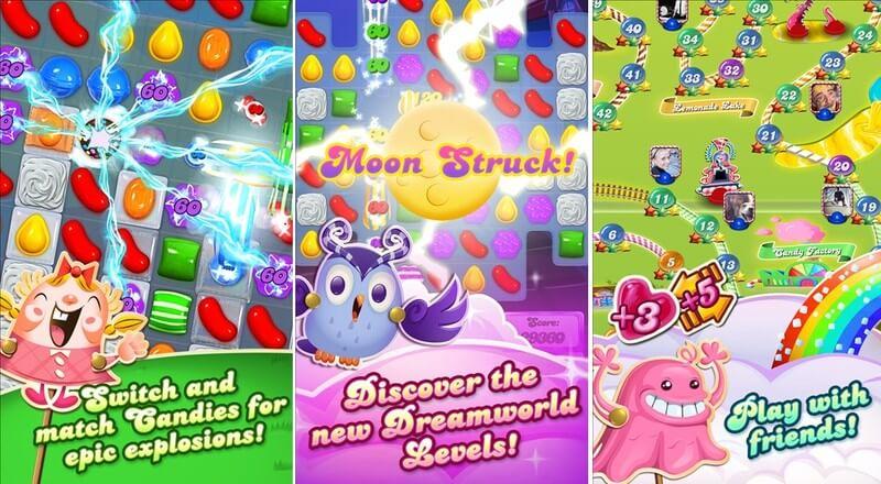 Candy Crush Saga ist ab sofort auch für Windows Phone 8 zu haben 2