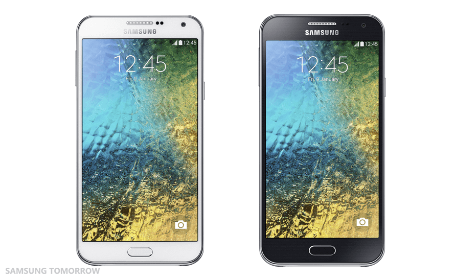 Samsung Galaxy E5 und Galaxy E7 für Indien vorgestellt 1