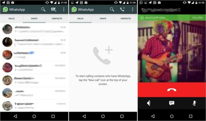 Whatsapp-telefonie