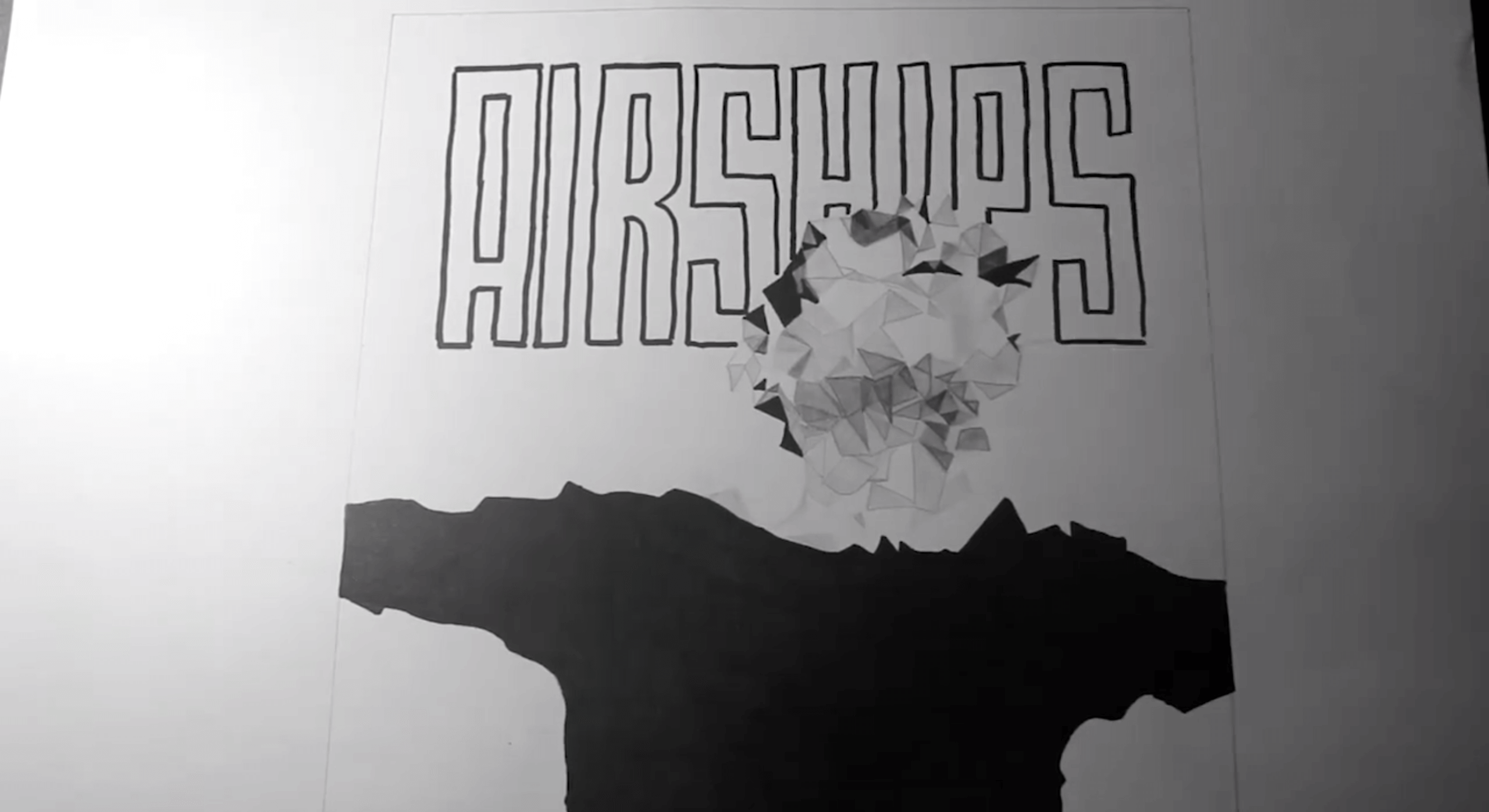 Leslie Alan präsentiert das AIRSHIPS Cover 1