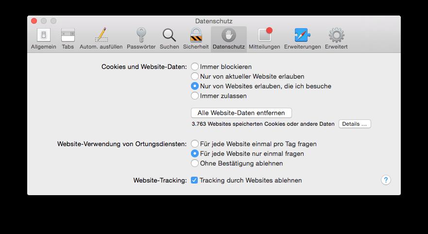 Safari-Browser-Cookies