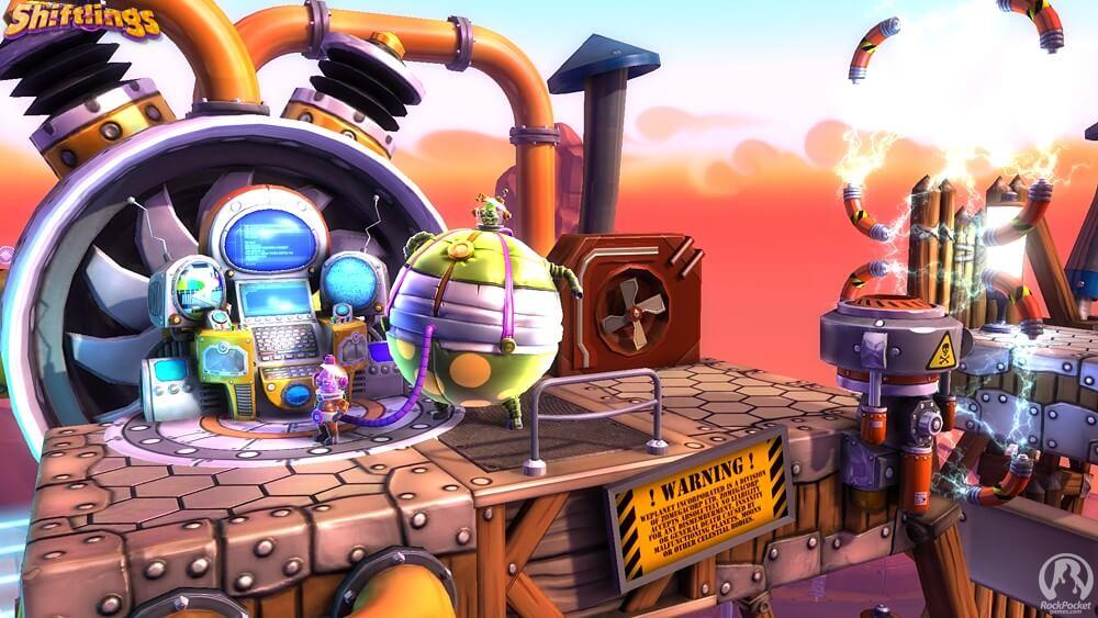 Neue Screenshots zum Weltraum-Abenteuer Shiftlings aufgetaucht 1